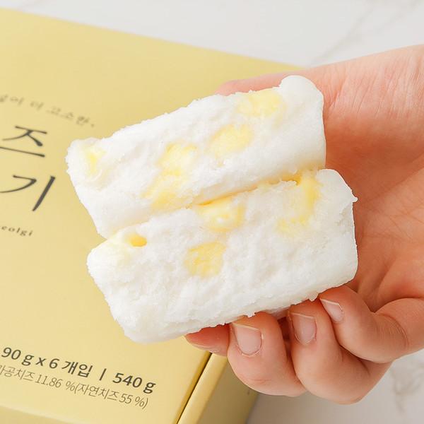 치즈 백설기 (6개입)