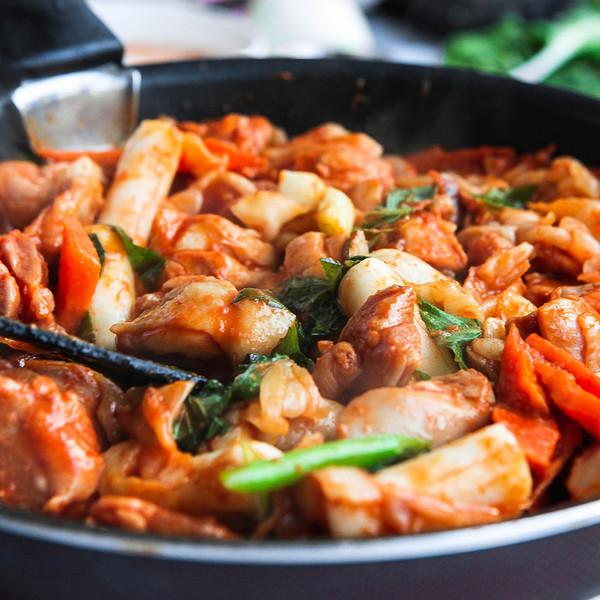 춘천식 닭갈비 (국내산, 2~3인분, 무료배송)