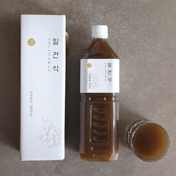 일건식 생강진액 1L (무가당/가당)