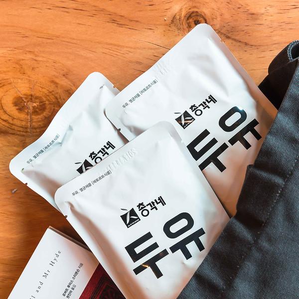 총각네 검은콩 두유 40포 (담백한 / 무가당)