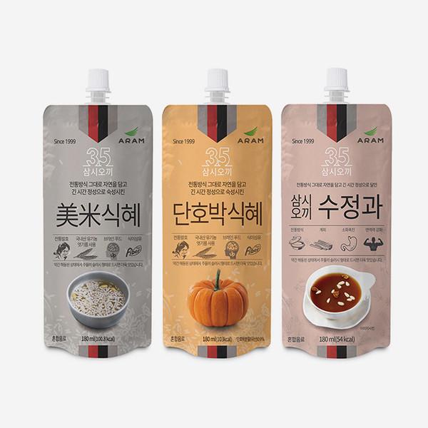 삼시오끼 식혜, 수정과 (180ml)